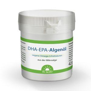 DHA-EPA-Algenöl - Dr. Jacob's