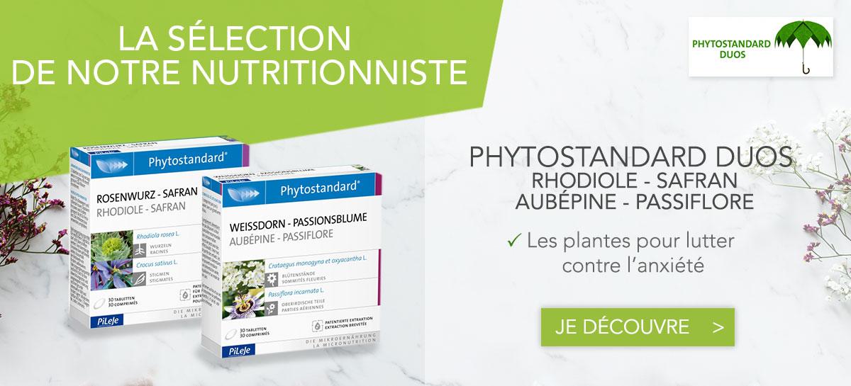 Phytostandard Les plantes pour l'anxiété