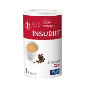 Packaging Entremets café Insudiet, 300g.