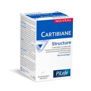 boite de cartibiane structure de PiLeJe 60 comprimés sécables