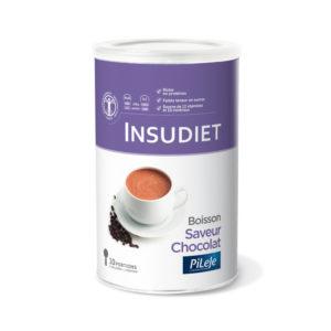 Packaging Boisson saveur Chocolat Insudiet, 300g.