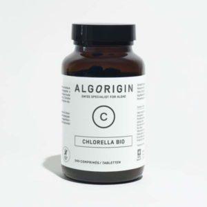 Flacon de Chlorella Algorigin 240 comprimés.