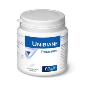 Packaging Unibiane potassium 120 comprimés